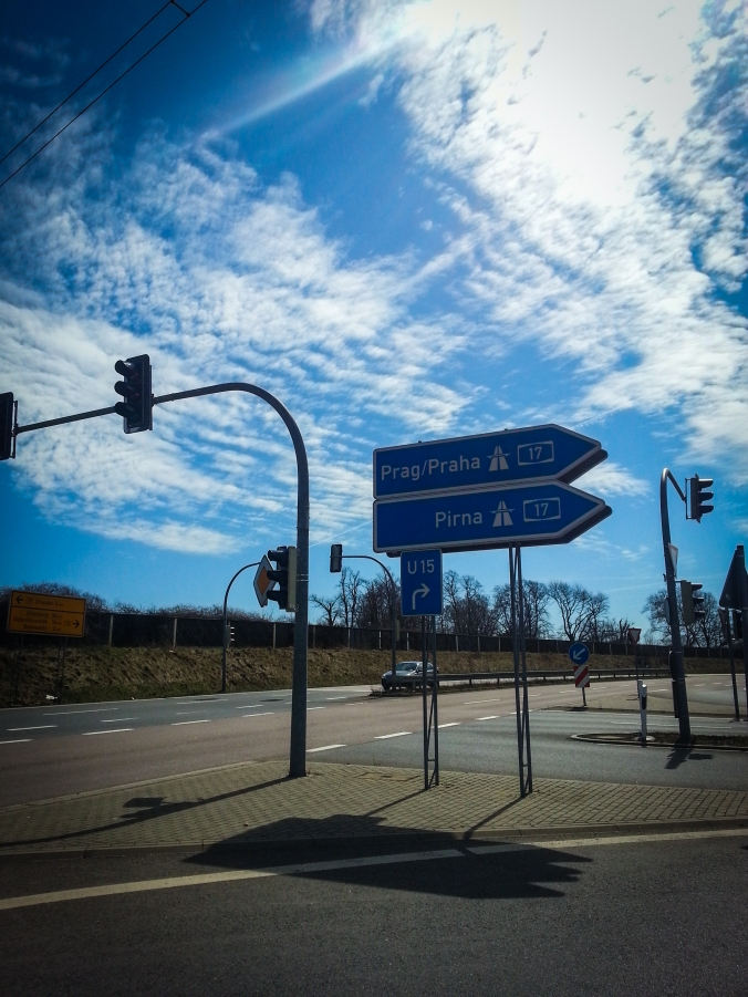 Best hitchhiking spot in Dresden